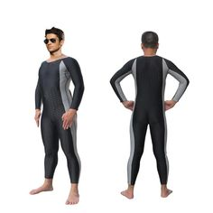 f524c4d4b6 SBART Professional Men s Snorkeling Surfing Swimming Diving Suit Swimsuit  Sharkskin One Pieces Wetsuit Rashguard Swimwear