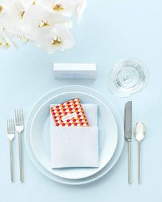 Address-Book Wedding Favor - 50 Good Things for Your Wedding via Martha Stewart Weddings