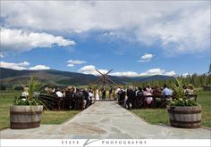 This is where I'm getting married!!! Devil's Thumb Ranch. It's right by Winter Park, CO