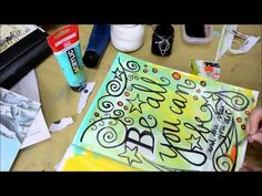 DoodleDiemTube # 6 Love this doodling art journal (video with no sound)