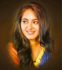Most Beautiful Faces, Beautiful Celebrities, Beautiful Actresses, Beautiful Girl Indian, Most Beautiful Indian Actress, Fantasy Art Angels, Anushka Photos, Actress Anushka, Actress Priya