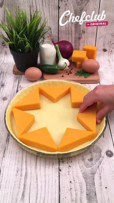 Quiche Recipes, Brunch Recipes, Appetizer Recipes, Baking Recipes For Kids, Cooking Recipes, Food Videos, Recipe Videos, Kids Meals, Easy Meals