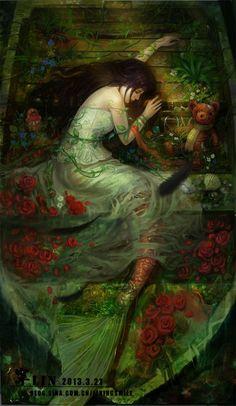 逝 by LiN寜~ the dreams of a mermaid.