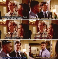 Reid knows everything... according to Morgan. :)