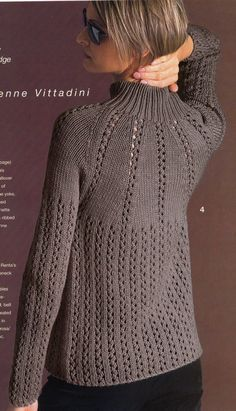 VK 2002 Winter – Mo Yu – Mo Yu, the garden is spinning back Hand Knitted Sweaters, Sweater Knitting Patterns, Cardigan Pattern, Knitting Designs, Knitting Stitches, Free Knitting, Baby Knitting, Gilet Crochet, Knit Crochet