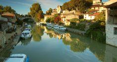 Aquitaine, France. http://photos.creafrance.org/thematiques/9818_penichettes-a-nerac-albret-aquitaine.jpg