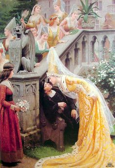Edmund Blair Leighton - Kiss