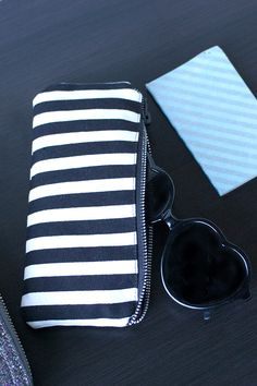 DIY Glasses Case Tutorial~http://jonesdesigncompany.com/tutorial/sweater-pillow-tutorial-2/