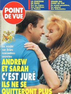 SARAH FERGUSON E ANDREA 1995 - POINT DE VUE N° 2462 DU 10 10 1995