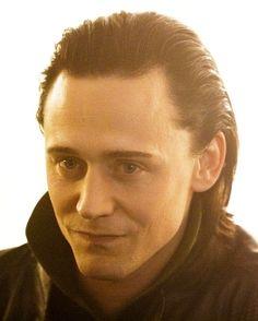 Loki mischievous grin.