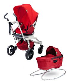This mix-n-match stroller system comes with a bassinet that turns the stroller into a designer pram. Use it from Baby's day one and as they ...