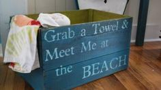 Beach towels idea from Chartreuse in Va. Beach, VA