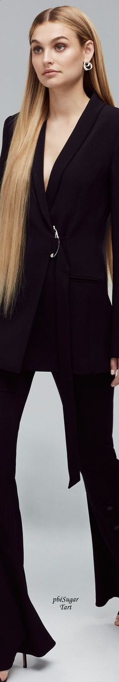 Power Suits. Zippertravel. #DrStyle Cushnie et Ochs - Resort 2018