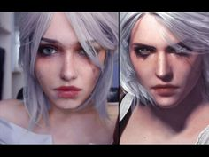 The Witcher 3: CIRI MAKEUP TUTORIAL - YouTube