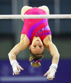 f7619c578e20 Mykayla Skinner of United States competes on the High Bar during practice  prior to the 2016