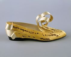 Shoes by Isabel Canovas, 1989.