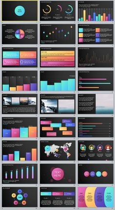 27+ Multicolor Charts data PowerPoint template #powerpoint #templates #presentation #animation #backgrounds #pptwork.com #annual #report #business #company #design #creative #slide #infographic #chart #themes #ppt #pptx #slideshow