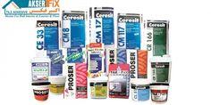 شرکت اکسیر فیکس   واردات و توزیع چسب های ساختمانی