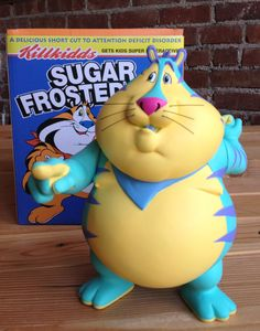 Fat Tony Teal Edition-Ron English Popaganda Exclusive Figure!
