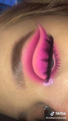 Makeup Eye Looks, Eye Makeup Art, Diy Makeup, Eyeshadow Makeup, Halo Eye Makeup, Makeup Artistry, Baddie Make-up, Maquillage On Fleek, Make Up Designs