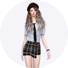 Wrap skirts at Marigold via Sims 4 Updates  Check more at http://sims4updates.net/clothing/wrap-skirts-at-marigold/