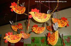 Cute for kindergarten Paper Plate Art, Paper Plate Crafts, Farm Crafts, Preschool Crafts, Spring Art, Spring Crafts, Easter Art, Easter Crafts, Nursery Crafts
