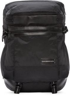 Master-Piece Co Black Nylon Small Exceed Backpack