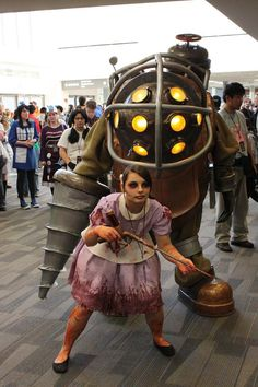 Ohayocon 2012: Big Daddy and Little Sister by ~SeetherFan2 on deviantART