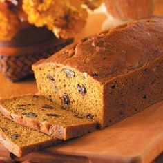 Pumpkin Bread With Pecans