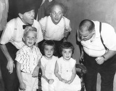 Brady's Bunch of Lorain County Nostalgia: Portrait of the Stooges With a Young Man