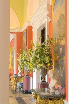 Beautiful colours at Bowood House, Calne, Wiltshire. England