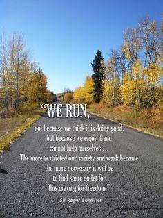 we run …