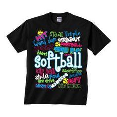 Softball - Graffiti - Short Sleeve T-shirt $15.95