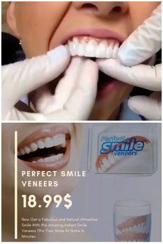 Smile Teeth, Teeth Care, Skin Care, Smile Smile, Snap On Smile, Perfect Teeth, Perfect Smile, Veneers Teeth, Dental Veneers