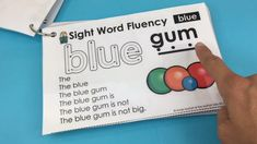 Sight Word Fluency Pyramid Sentences