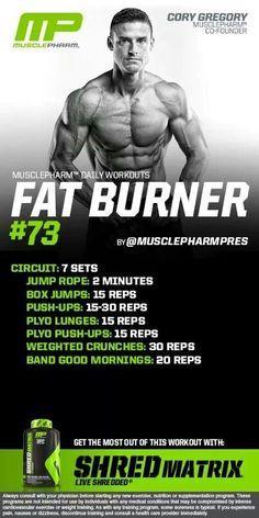 MusclePharm Fat Burner#73