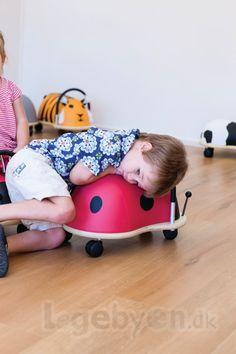 Køb Skubber Wheely Bug Mariehøne - Stor - Fra 3 år. online - Wheely Bug