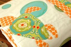 Items similar to Baby Crib Quilt Cot Blanket Sea Turtle Lime Orange Aqua Handmade on Etsy Turtle Quilt, Cot Blankets, Baby Cribs, Future Baby, Sewing Tutorials, Infant, Lime, Beach Stuff, Sea