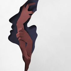 "Felix Riebl ""Paper Doors"" album artwork by Eiko Ojala #illustration #collage"