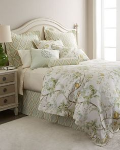 Errington Bloom Bedding by Legacy Home at Horchow.   Can't wait for this to arrive! Fresh for spring!