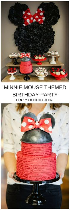 Baby Girl Birthday Gifts Minnie Mouse 66 Ideas For 2019 Baby Girl Birthday Decorations, Minnie Mouse Party Decorations, Kids Party Decorations, Birthday Diy, Minnie Birthday, Birthday Nails, Birthday Gifts, Happy Birthday, Kids Party Themes