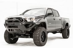 Fab Fours TT12-D1652-1 Vengeance Front Bumper with Pre-Runner Toyota Tacoma 2012-2015