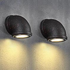 Tubulação de Água Industrial Do Vintage RH Sótão Lâmpadas de Parede 3 W Luz CONDUZIDA Da Parede para Bar Restaurante Parede Fixtures110V/220 V de Iluminação de Cabeceira(China (Mainland))