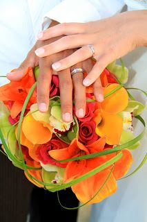 Flower color theme idea from wedding at Playa Grande Resort, Cabo.