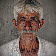 white moustache gujarat by Gerard Roosenboom on 500px