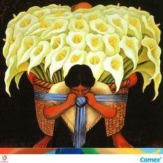 """""""La emoción estética es tan útil al hombre como las funciones digestivas"""". Diego Rivera #InspiracionComex"""
