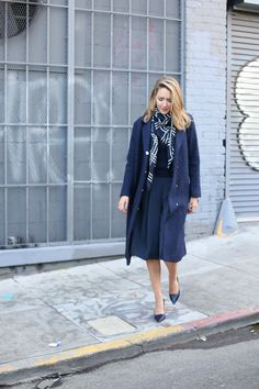 Navy on Navy on Navy | MEMORANDUM | NYC Fashion & Lifestyle Blog for the Working Girl