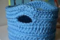 Lately, I have been obsessed with yarn bowls. They are so beautiful and I'm close to breaking down and buying one. This basket was made for ...