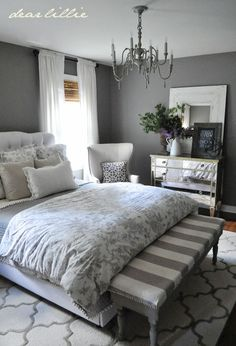 Dear Lillie Fall House Tour  Home Decor I Love Pinterest - Master bedroom rug ideas