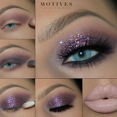 ✨ Sparkly makeup look from mega babe @theamazingworldofj. Here's what she used: -Eye Base  Pressed Eyeshadow in -Stellar as transition shade -Beyond all over the lid and along the lower lash line -Glitter Base and Glitter Pot in Jewel Pink also on the lid -Gel Eyeliner LBD -Lipstick for @Lala in Nice on the lips  #motivesmavens #mua #motd #eotd #motivescosmetics
